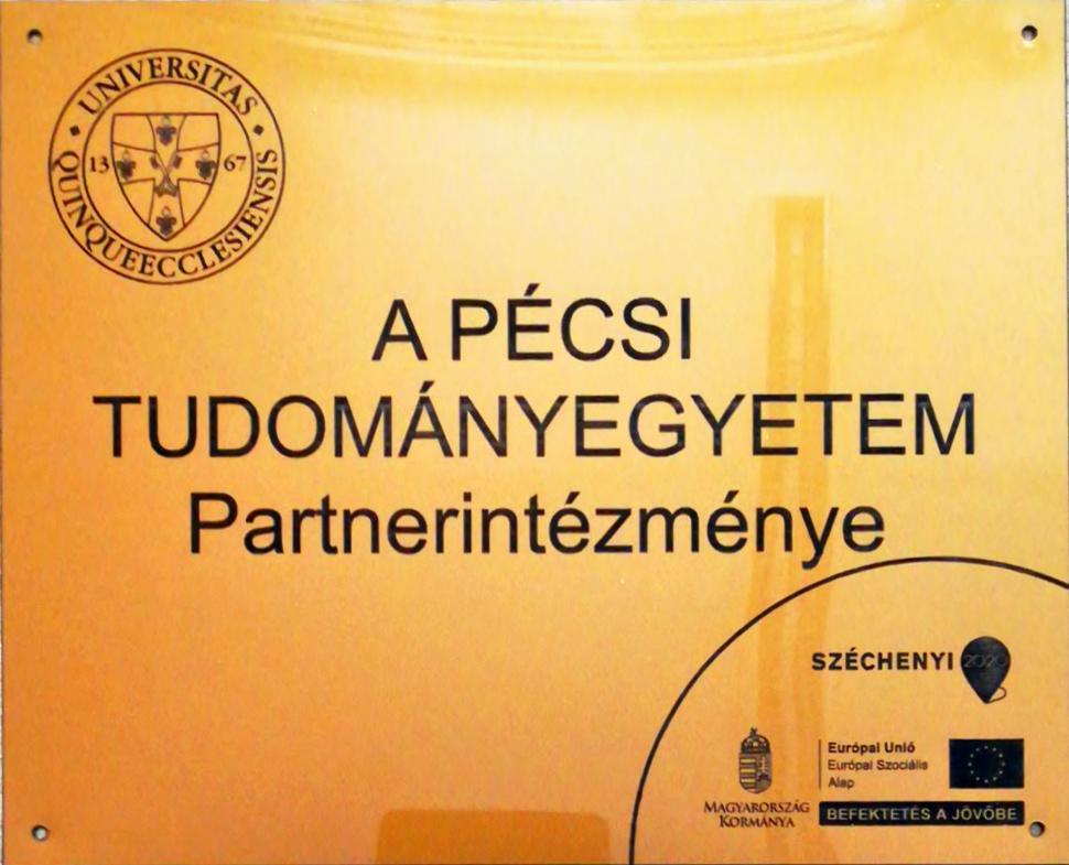 PTE partnerintézmény